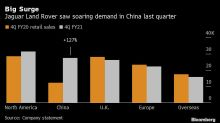 Jaguar Land Rover Owner Swings to Profit as China Sales Jump