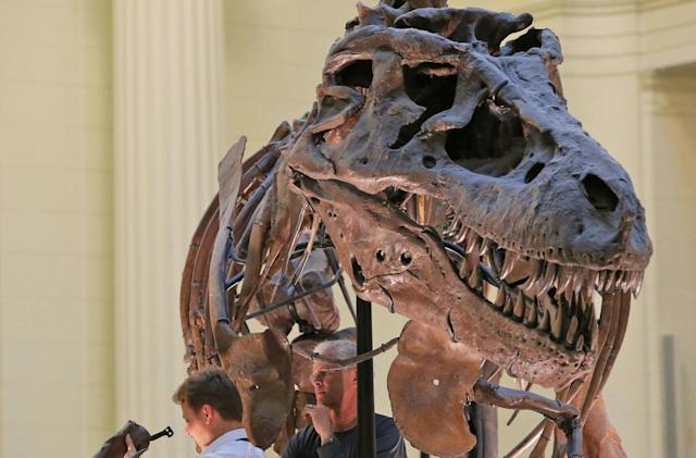 The internet picked a T. rex as one of the new 'Monopoly' tokens