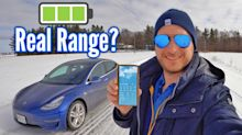What's the real range of Tesla Model 3 in cold climates?
