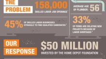 The Home Depot Foundation Commits $50 Million to Skilled Trades Training