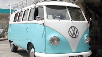 Eat Teochew-Thai dishes and ride in a VW bus
