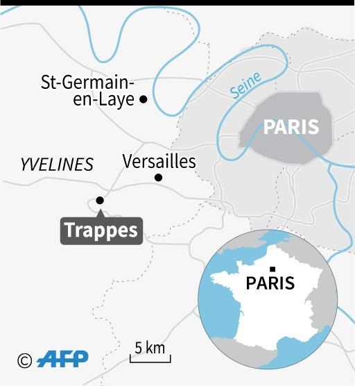 Trappes is a poor town with a large Muslim population about 30 kilometres southwest of Paris (AFP Photo/Jean Michel CORNU)
