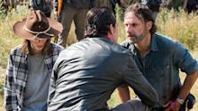 The Walking Dead star confirms show exit