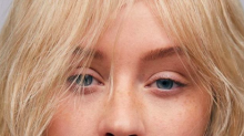 Christina Aguilera is unrecognisable in make-up free magazine shoot