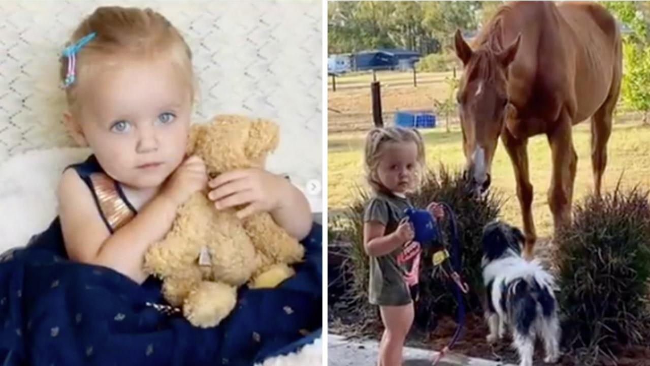 Toddler fighting for life after freak accident at dad's racing event