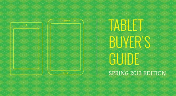 Engadget's tablet buyer's guide: spring 2013 edition