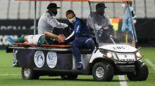 Viña segue em observação em hospital após concussão em Dérbi