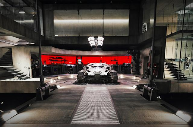 Explore the 'Batman v Superman' Batcave on Street View