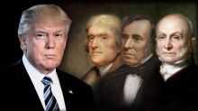The Trump standard: The 45th president's norm-busting first 100 days
