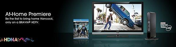 Hancock streaming home to BRAVIA HDTVs ahead of Blu-ray release for $9.99