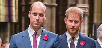 Prince Harry addresses rumors of feud with William