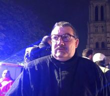 Notre-Dame's relics rescued by hero priest who rushed into flames