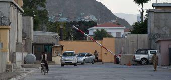U.S. locks down embassy in Kabul amid COVID-19 surge