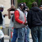 In Washington, signs of lockdown fraying