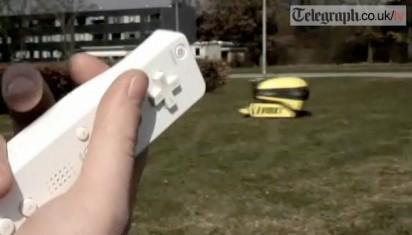 Casmobot lawnmower is a slave to the flick of a Wiimote