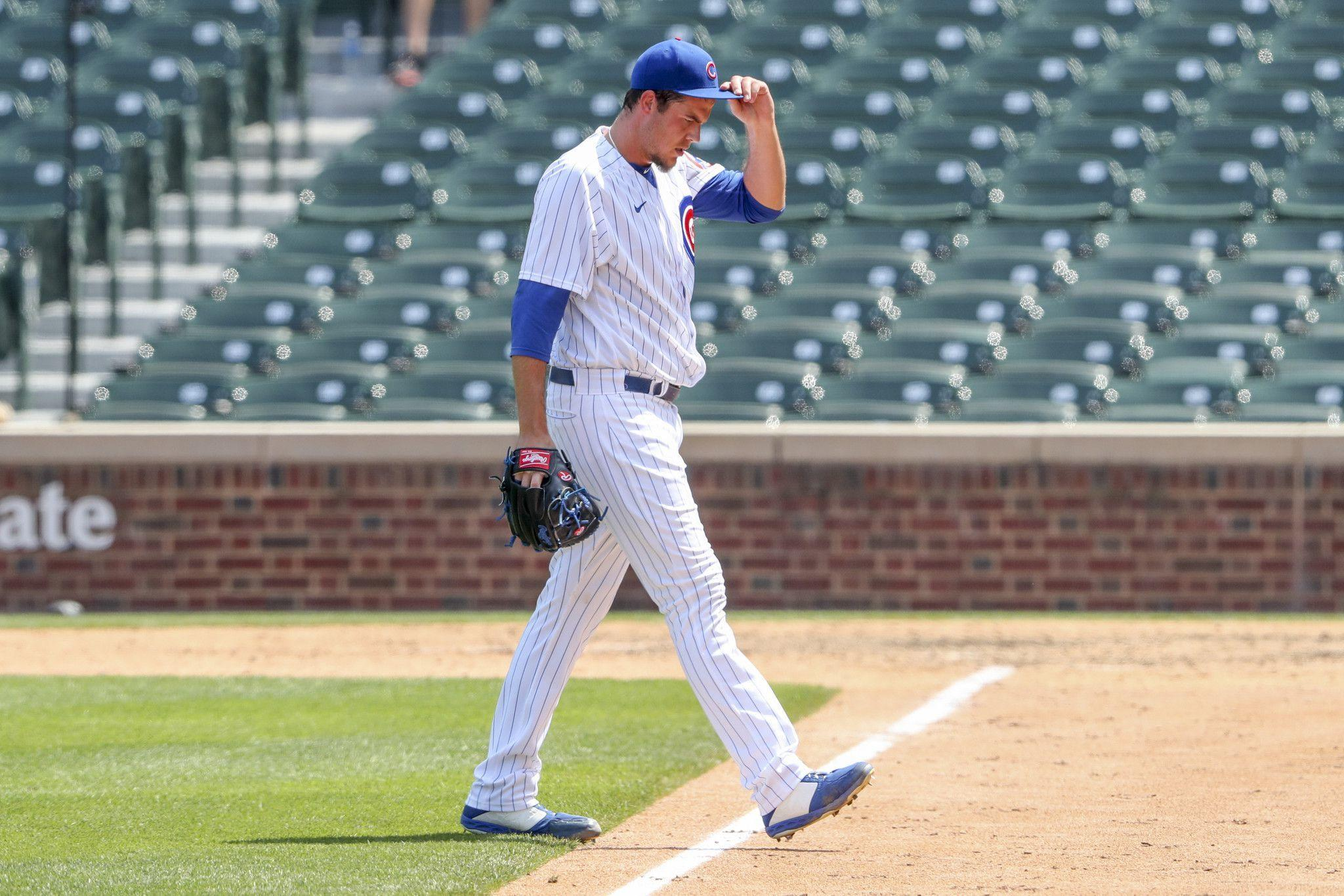 Cubs place left-handed reliever Brad Wieck on the 10-day injured list and promote Ryan Tepera from the taxi squad