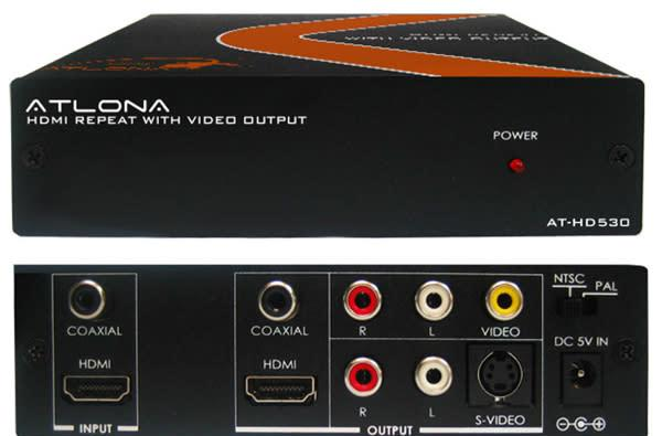 Atlona AT-HD530 Down-Converter, for those who walked uphill to school, both ways