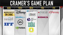 Cramer's game plan: Don't wait for Washington, watch earnings
