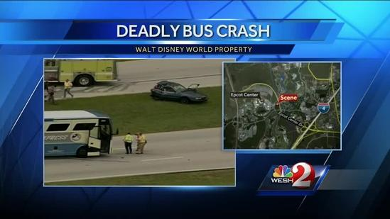Person killed when Magic Express bus, car collide at Disney World
