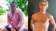 Fabio Assunção perde 27kg em cinco meses de malhação e dieta