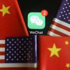 Chinese tech giant Tencent's WeChat app sees downloads surge before U.S. ban