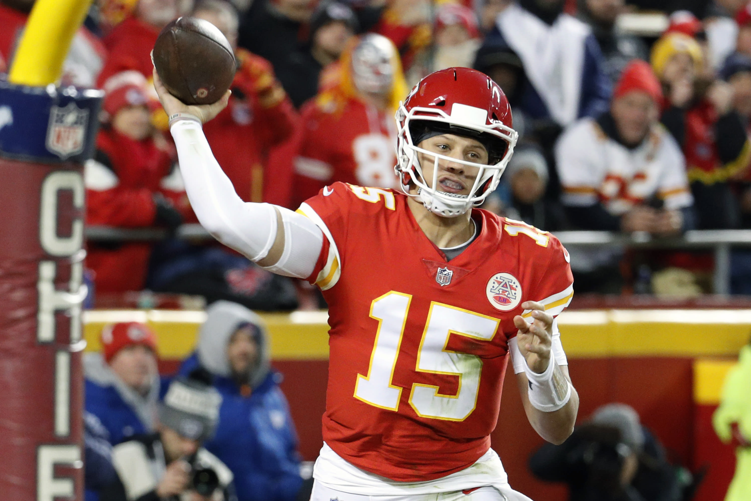 Patrick Mahomes leads AP's NFL All Pro team