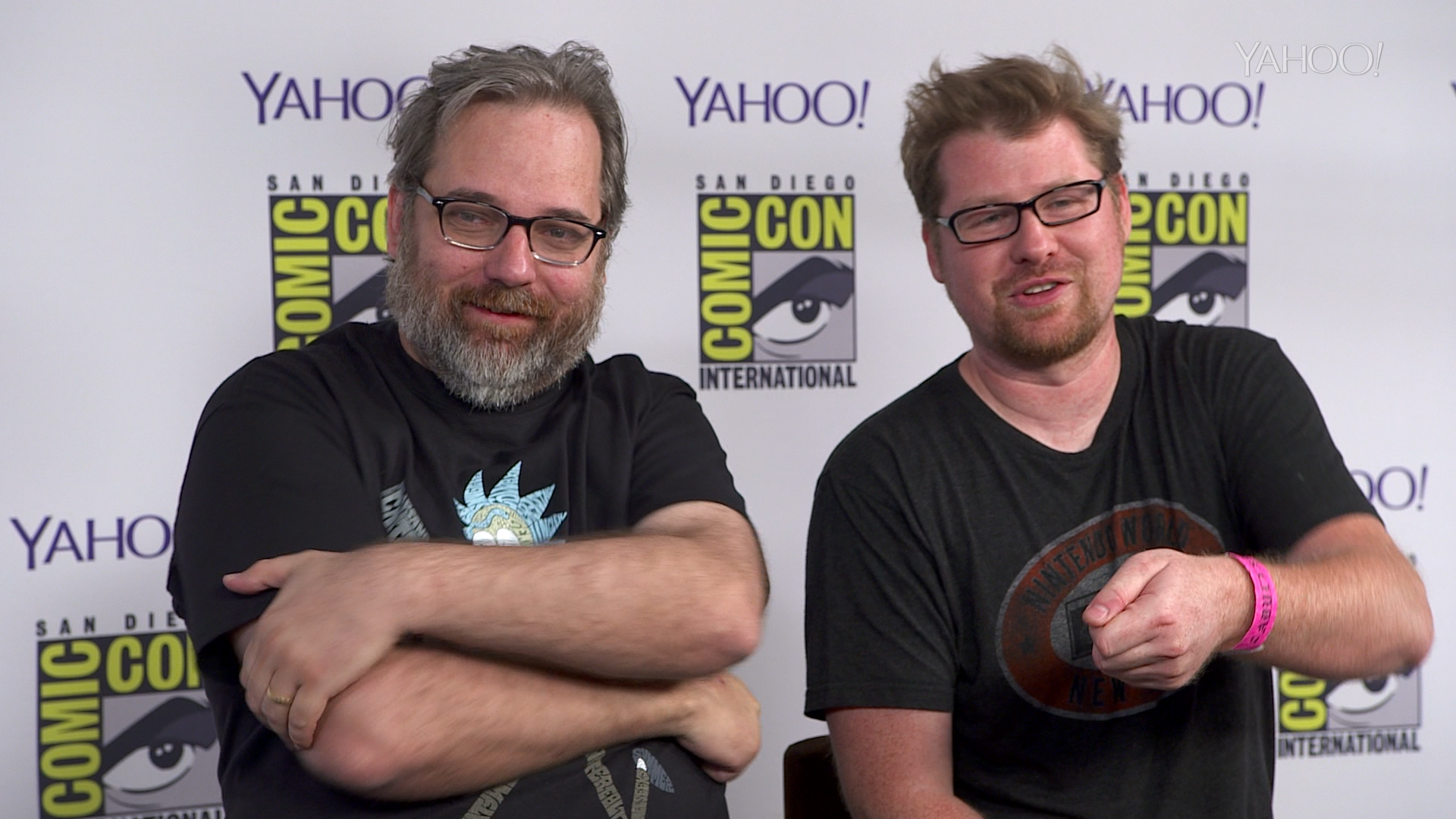 'Rick and Morty' Creators Improvise Whacked Out ...