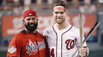 Did Bryce Harper and his dad break the rules?