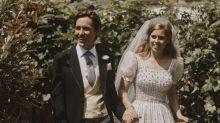 FOTOS | La princesa Beatriz usó un vestido de la reina para su boda