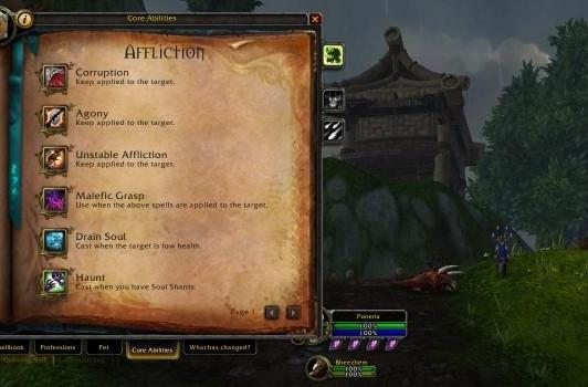 Blood Pact: Chunking shadow and flame