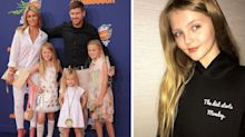 Parents upset as Steven Gerrard's model daughter promotes 'diet starts on Monday' slogan hoodie