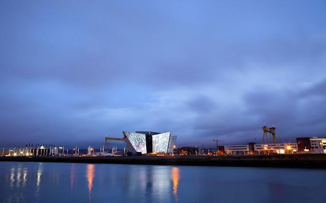 The Titanic Visitor Centre in Belfast, Northern Ireland, where the ship was built - Credit: GETTY