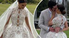 Aussie model Erin Holland's lavish Byron wedding: 'Like a queen'