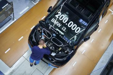 BMW i3生產已突破20萬輛