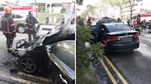 Car catches fire in Bukit Batok, driver escapes: witness