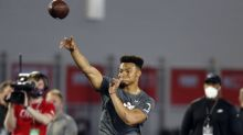 NFL draft betting: Justin Fields, not Mac Jones, now favored to go third to 49ers