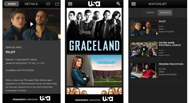 USA Network now lets you watch past episodes on its iOS app
