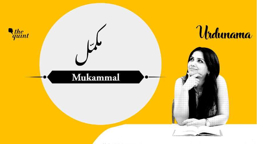 Urdunama: Who Are You 'Mukammal' With In Your Life?