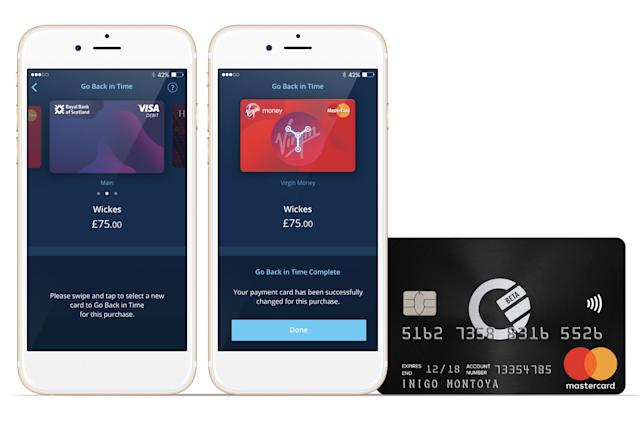 Curve's smart card switches between credit and debit after purchases