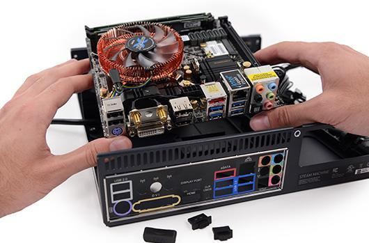 Steam Machine teardown reveals 1TB hybrid drive, 16GB RAM