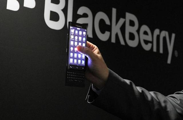BlackBerry will release a curved-screen slider phone later this year