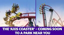 The 'Axis Coaster' is a 360-degree roller coaster experience