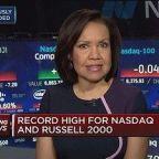 Chip stocks lead Nasdaq higher