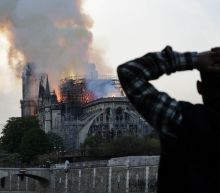 Notre-Dame paintings removed amid lead pollution fears