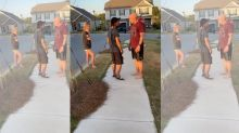 Army sergeant pushes Black man, demands he leave neighborhood in viral video