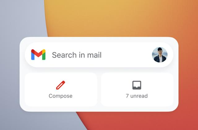 Google now has iOS widgets for Gmail, Drive and Fit, with more on the way