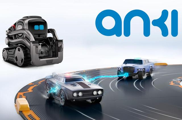 Engadget giveaway: Win an Anki Cozmo robot and Overdrive racing set!