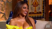 'Real Housewives' star Kenya Moore awkwardly reveals she's pregnant