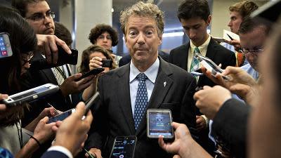 Rand Paul holds up budget bill, shutdown seems inevitable