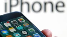 Weak iPhone sales hit shares of Apple's suppliers